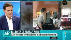 La cortante reacción de Rivera cuando Ana Rosa le ha preguntado por Malú: luego se lo tomó
