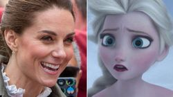Kate Middleton Sweetly Explains Why She Couldn't Wear 'Frozen' Dress On Farm