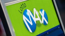 Le gros lot de 65 M$ du Lotto Max remporté au