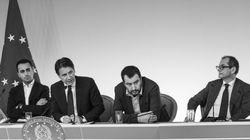 A metà riunione Salvini si alza e se ne