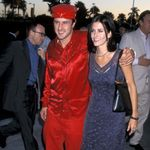 Courteney Cox's Daughter Wears Mom's Red Carpet Dress Decades