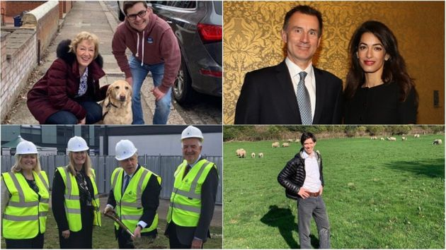 For the gram: Tory leader contenders have uploaded snaps to