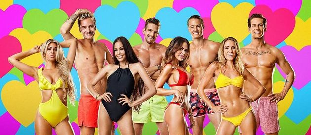 The opening cast of Love Island