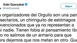 Acusan a Iñaki Oyarzábal (PP) de homofobia por las tres palabras finales de este