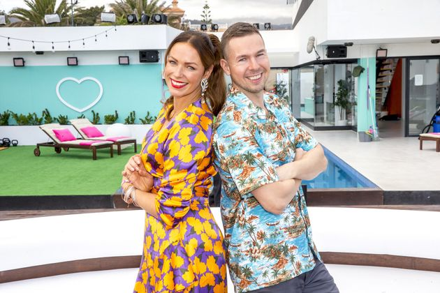 Lisbeth Østergaard and Dan Andersen were the face and voice of Love Island