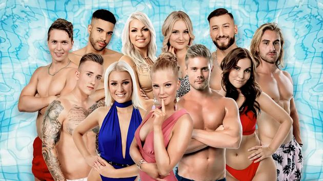 The opening line-up of Finnish Love Island