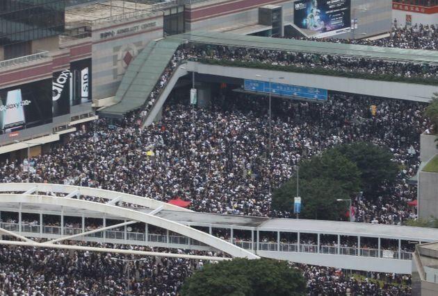 Imagen de la manifestación este