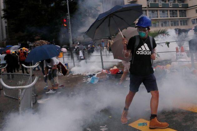 ¿Por qué hay tanta gente manifestándose en Hong