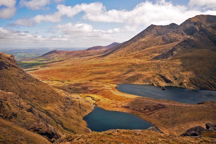 Carrauntoohil, Ireland's highest mountain.
