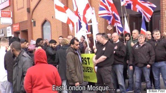 Britain First Accuse East London Muslims Of 'Racism And Bigotry' As Tower Hamlets Mayor Tries To Ban