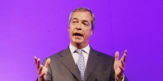 Ukip Party leader Nigel