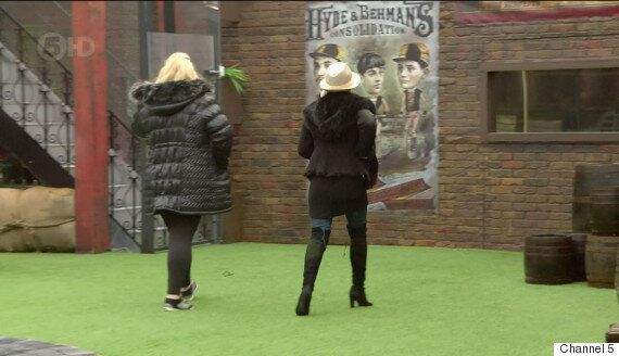 'Celebrity Big Brother': Danniella Westbrook And Gemma Collins In Furious 'CBB'