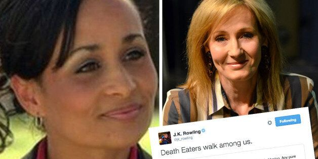 JK Rowling Responds To Katrina Pierson's 2012 'Pure Breed' Comments In Signature