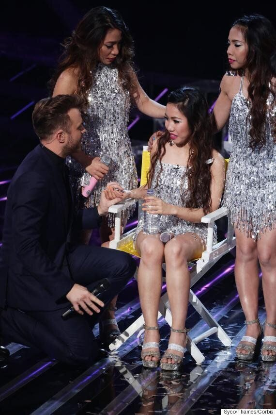 'X Factor' 2015: 4th Impact Singer Celina Cercado Collapses During Live Show, But Continues To Perform...
