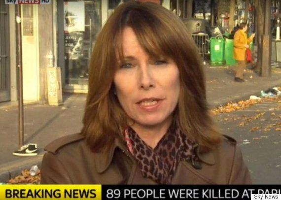 Paris Attacks: Sky's Kay Burley Criticised For Linking Picture Showing 'Sadness' In Dogs Eyes To