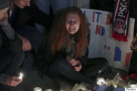 Paris Attack Victim Nick Alexander's Girlfriend Polina Buckley Breaks Down At