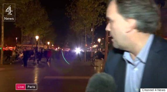 Channel 4 Reporter Matt Frei Caught Up In Mass Crowd Panic After Paris