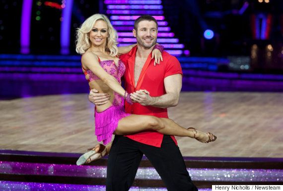Kristina Rihanoff And Ben Cohen Dismiss Rumours They're 'Leading Separate