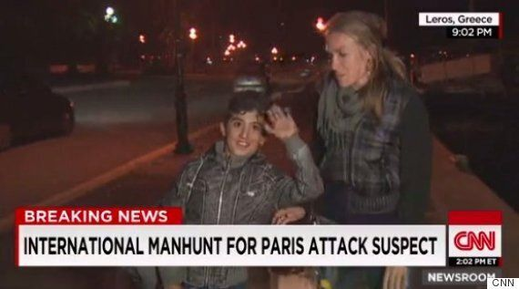 CNN Reporter Arwa Damon Gives On-Air Lesson In Humanity After Refugee Interrupts Live