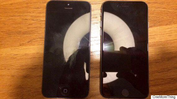 iPhone 5se Leaked Picture Hints At 4-inch Screen With A March