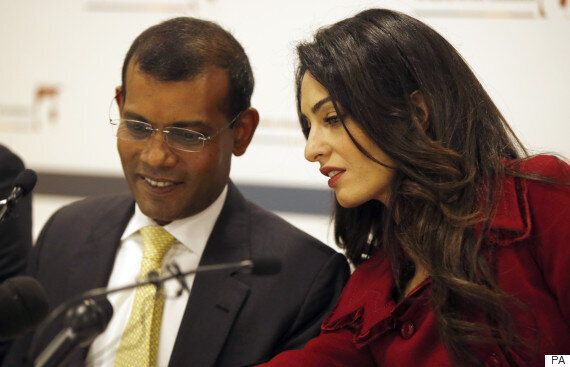 Amal Clooney's Client And Colleagues Slam Cherie Blair's Support Of Maldives Government, Question Her