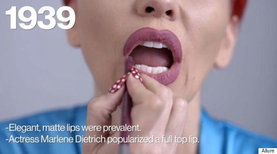 Kandee Jonhson Demos 100 Years Of Lip Makeup Trends In Less Than Two