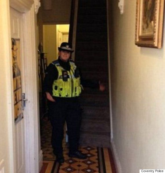 Coventry Police Face Backlash After 'Burglary Patrol' Officers Post Pictures On Twitter Inside Unlocked