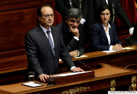 Francois Hollande Declares France 'At War' With Isis In Earnest Speech To French Parliament In