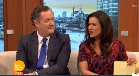 Susanna Reid Makes Unfortunate 'Good Morning Britain' Slip-Up, Introducing Jeremy Kyle And Piers Morgan...