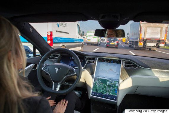 Tesla's New 'Autopilot' Ad Shows How The Model S Can Become Your Self-Driving