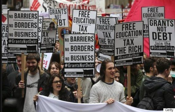 Students Are Walking Out Of Lectures To Protest Against Government's Treatment Of