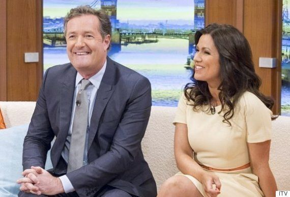 'Good Morning Britain's New Host Piers Morgan Says His Chemistry With Susanna Reid Is 'Half Very Nice,...