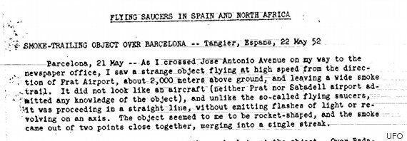 CIA Post Top Secret UFO