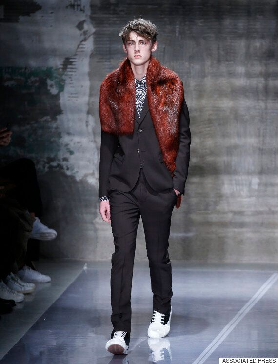 Men's Fashion Week 2016: Fur On The Catwalk In 60% Of Autumn/Winter 2016