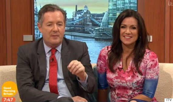 Piers Morgan Accuses Susanna Reid Of 'Child Abuse' On 'Good Morning Britain' For Not Brushing Her Hair...