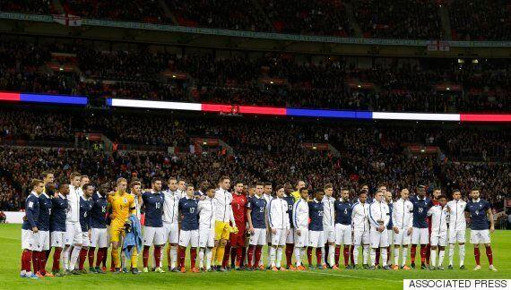 England V France: David Cameron Gets Emotional During Wembley