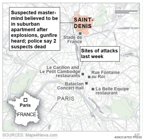 Saint Denis Siege: Two Dead After Police Target Paris Attacks 'Mastermind' Abdelhamid