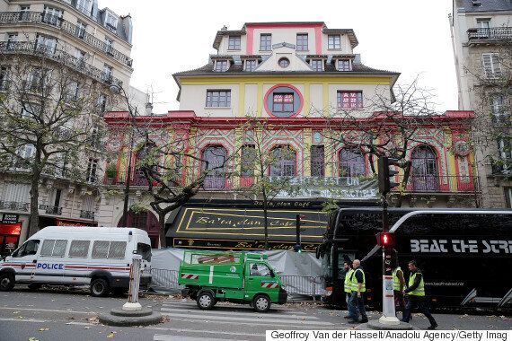 Paris Attacks: Bataclan Theatre Hangs Banner Saying 'Liberty Is An Indestructible