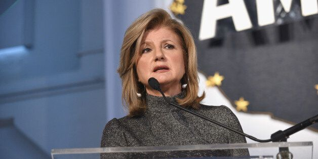 Chair, President and Editor-in-Chief, Huffington Post Media Arianna Huffington speaks during a keynote...