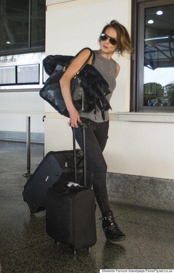 Cheryl Fernandez-Versini And Nicola Roberts Touch Down In Barbados Ahead Of Kimberley Walsh's Wedding