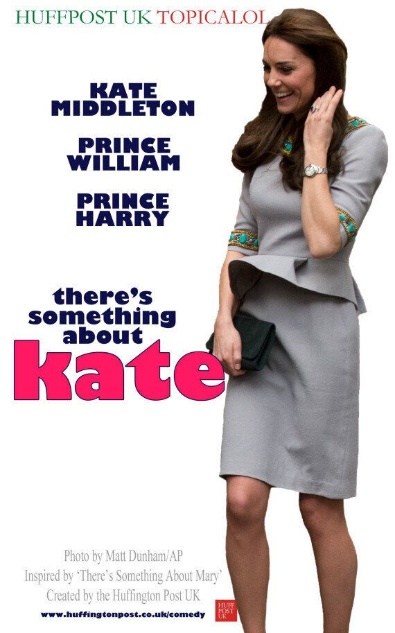 Duchess Of Cambridge Kate Middleton's 'There's Something About Mary'