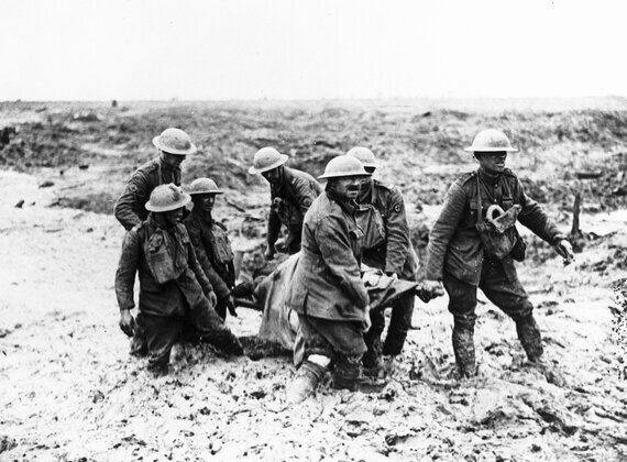 Wounded Exhibition at the Science Museum to Mark 100th Anniversary of Battle of the