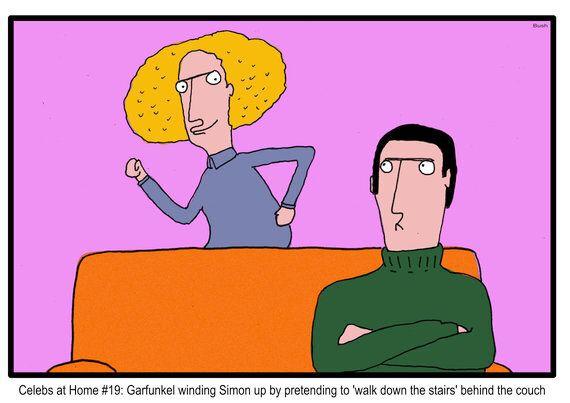 Celebs at Home: Simon and