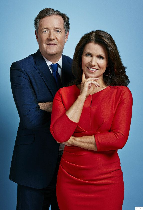 'Good Morning Britain': Piers Morgan Defends Susanna Reid From 'Sexist' Criticism: 'She's An Accomplished