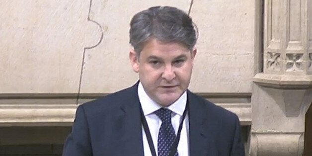 Conservative MP Philip Davies speaks during a debate in Westminster Hall, London, where he said that...