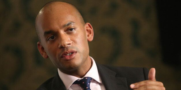 Chuka Umunna, former business spokesman of the U.K. opposition Labour Party, speaks during a debate on...