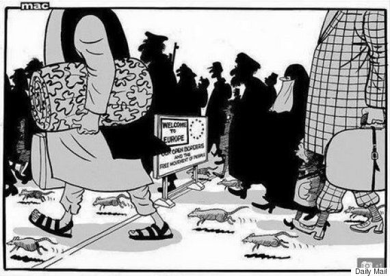 Daily Mail Cartoon Comparing Refugees To Rats Is 'Islamophobic', Richard Burgon MP