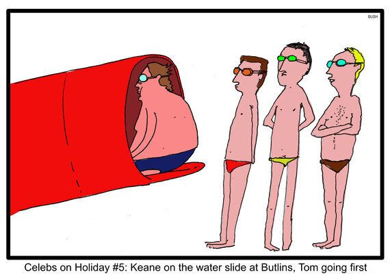 Celebs at Holiday: Keane on