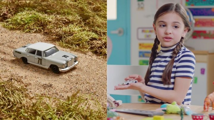 There's a new toy that might inspire girls to realize they have no limits.