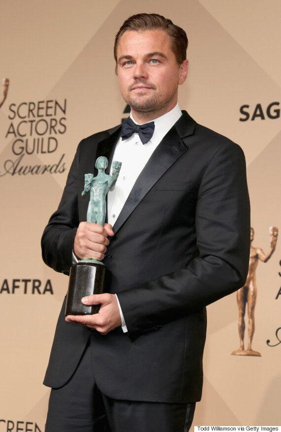 SAG Awards 2016 Winners: Leonardo DiCaprio Is One Step Closer To An Oscar, After Best Actor Victory (FULL...